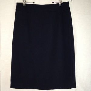 Calvin Klein Navy Pencil Skirt Size 2